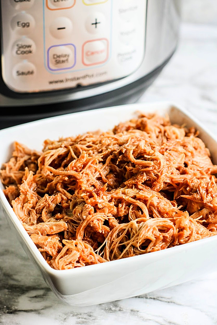 """Featured image for """"Instant Pot BBQ Chicken"""""""