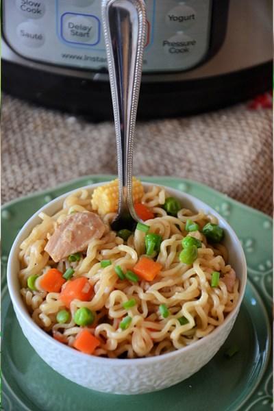 Instant Pot Ramen Noodles