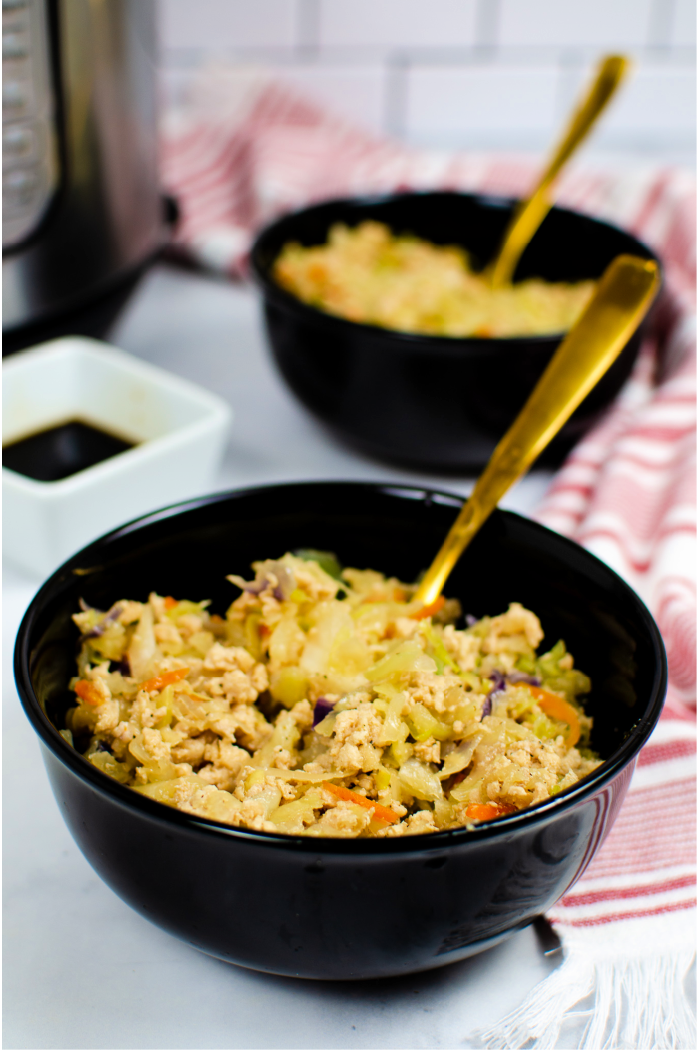 """Featured image for """"Instant Pot Egg Roll in a Bowl"""""""