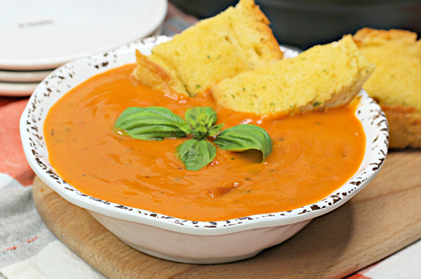 How to make tomato basil soup in the instant pot