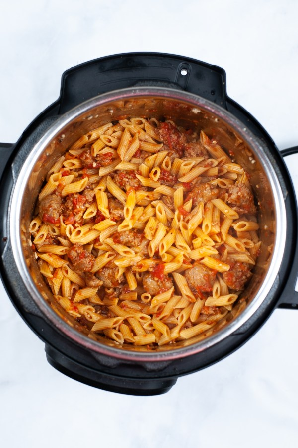 vodka penne recipe made in the instant pot