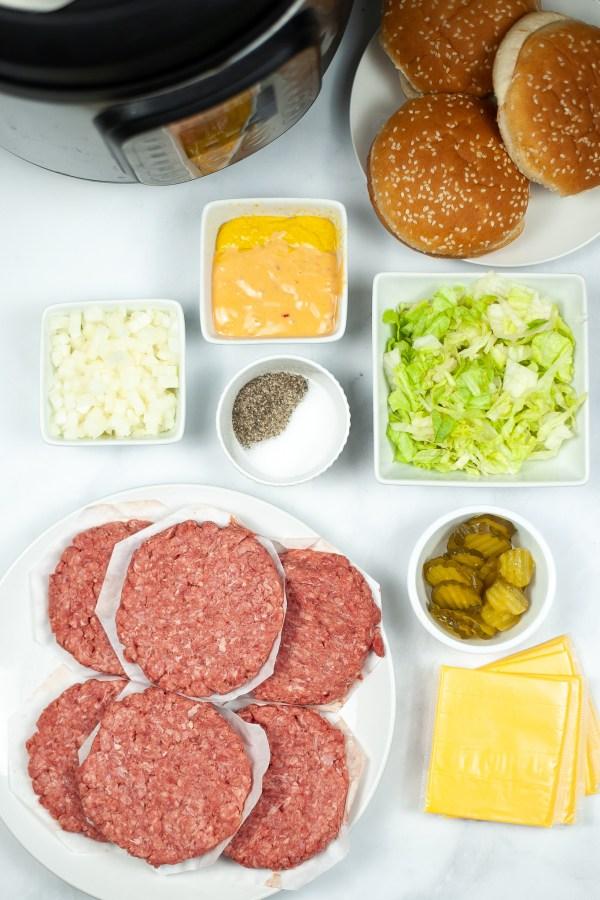 Big Mac Ingredients