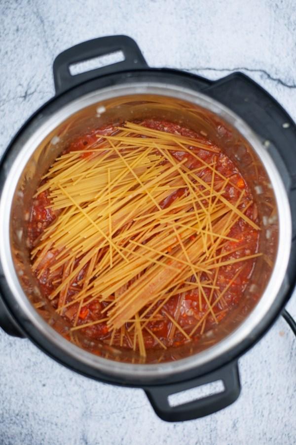 add Spaghetti