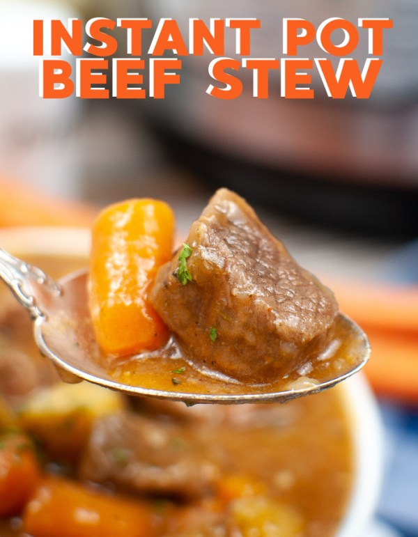 How to tender beef stew in the Instant Pot
