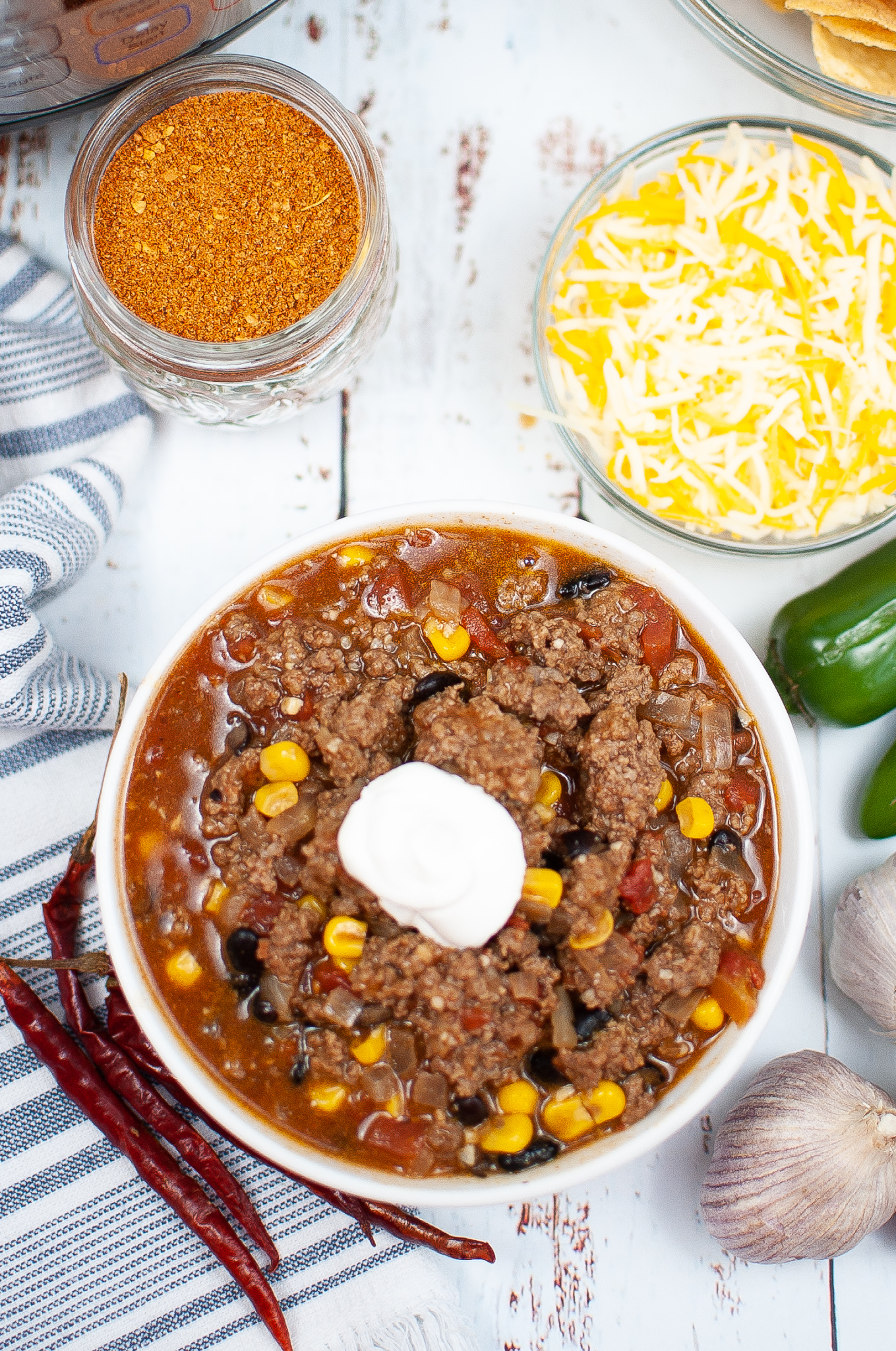 """Featured image for """"Instant Pot Taco Soup"""""""