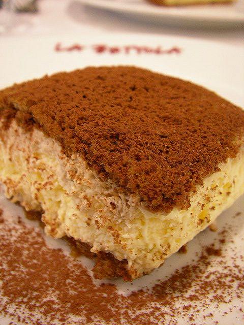 Italian Tiramisu Cake Recipe