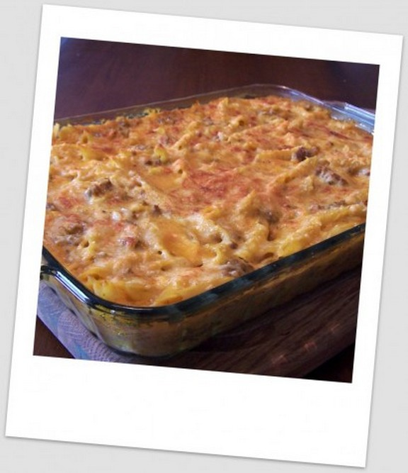 Pumpkin Ricotta Italian Pasta Bake recipe photo