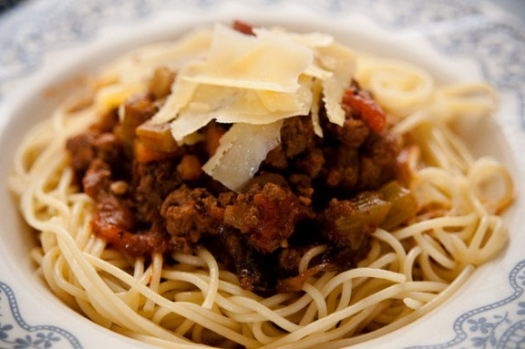 Spaghetti Bolognese recipe photo