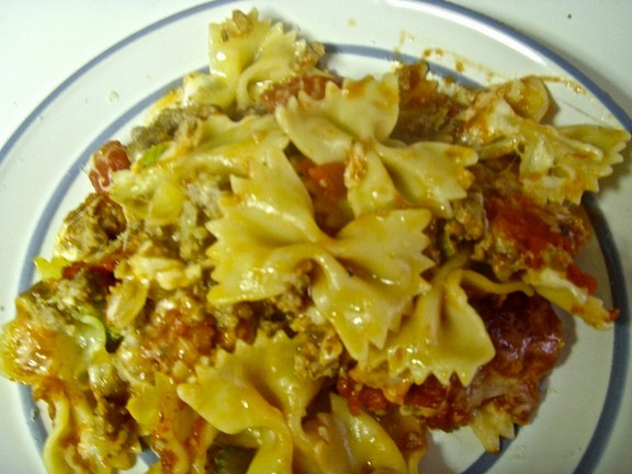 Ziti with Italian Sausage recipe photo