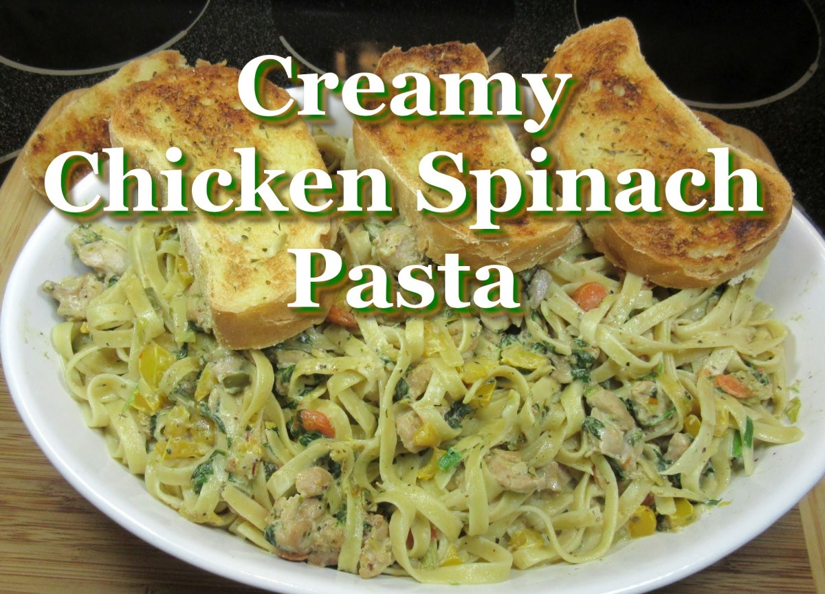 Easy italian creamy chicken spinach pasta easy chicken recipe easy italian creamy chicken spinach pasta easy chicken recipe video easy italian recipes forumfinder Choice Image