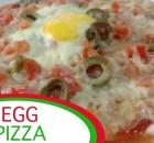 Egg Pizza - Pizza Recipe - Italian Recipe (VIDEO)