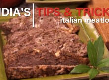 Homemade Italian Meatloaf Recipe (VIDEO)