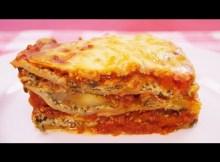How To Make Vegetable Lasagna Recipe - Italian Classic - Mom's Best! (VIDEO)