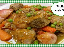 How to Make Classic Italian Lamb Stew ~ Great Lamb Stew Recipe (VIDEO)
