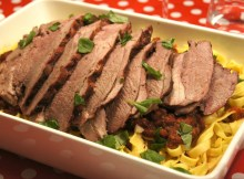 Italian Lamb roast BBQ recipe (VIDEO)