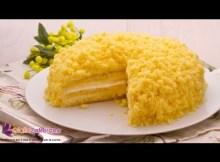 Mimosa cake - Italian recipe (VIDEO)