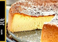 Ricotta Cheesecake Recipe Cooking Italian with Joe (VIDEO)