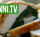 Roasted Turkey Breast with Spinach and Prosciutto Stuffing, Italian Recipe (VIDEO)