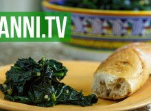 Tuscan Black Kale Italian recipe - Vegan, Med, Paleo (VIDEO)