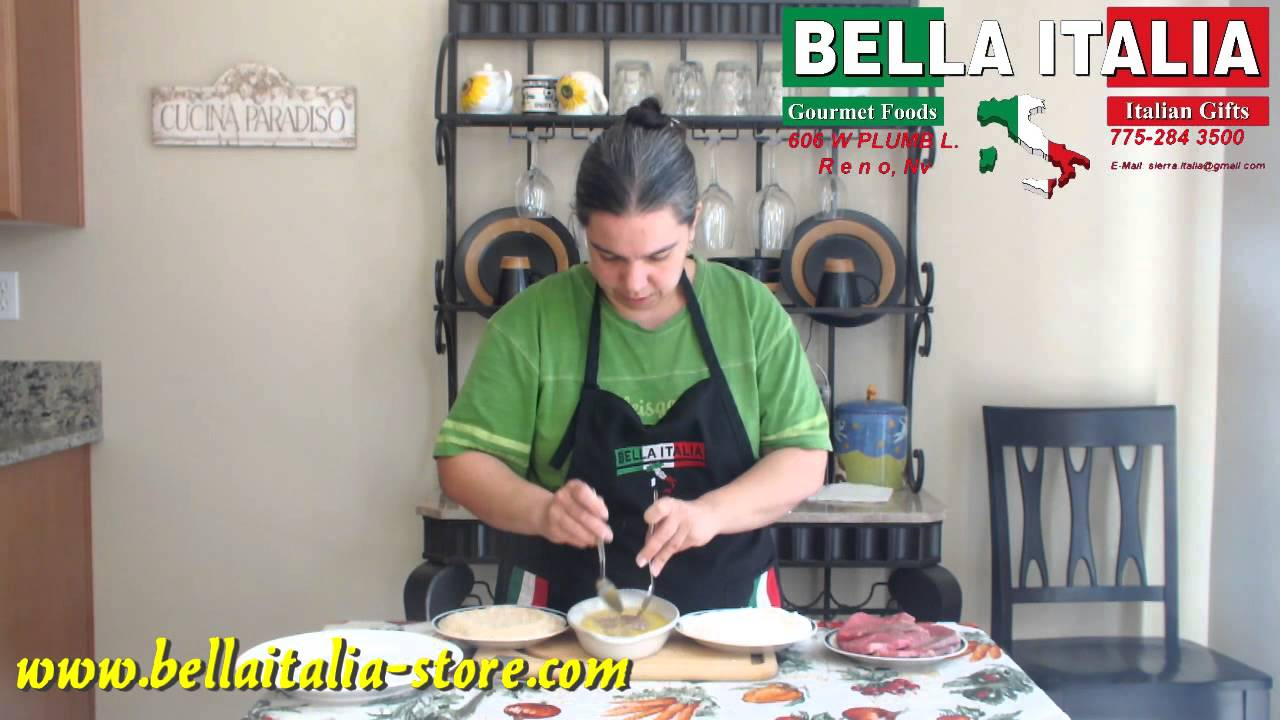 How to prepare Italian beef breaded cutlets (VIDEO)
