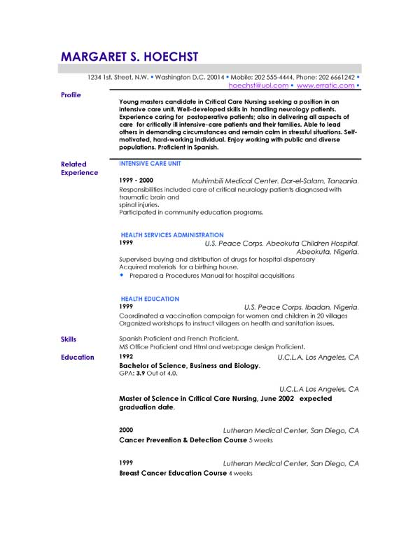Resume Personal Section Sle Resume Headings Sle Resume Does