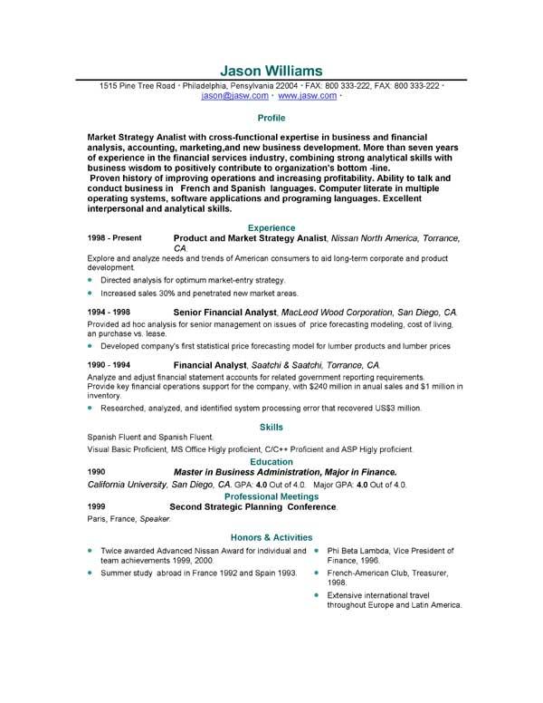 85 FREE Sample Resumes by EasyJob  EasyJob
