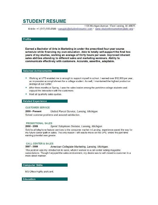 easyjob resume builder
