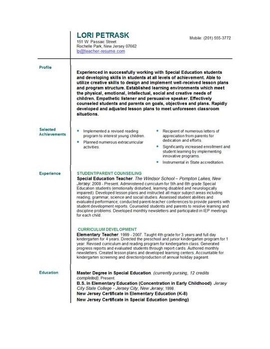 Executive Resumes  Executive Resume Sample, Templates