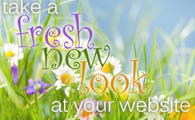 Take A Fresh New Look At Your Website Harlow Bishop S