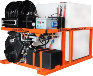 Portable Jetter used in vans and trucks