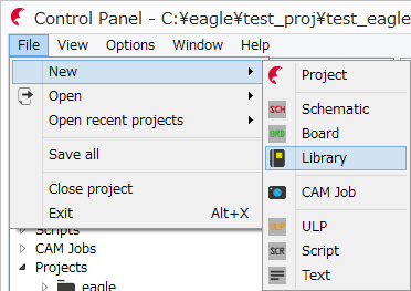 eagle720_file_new_lib_1