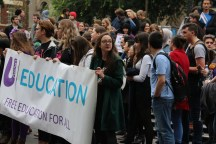 Student are fighting for their rights to get higher education.