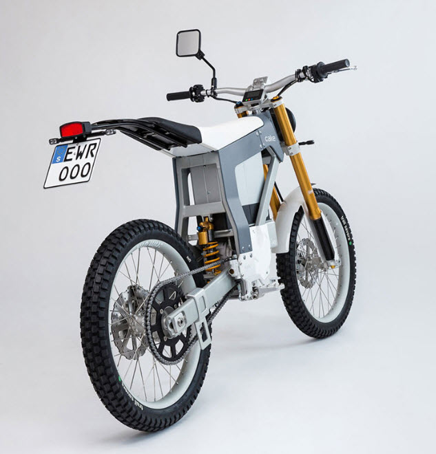 Cake Street Legal Electric Motorcycle