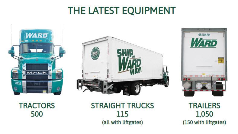 ward trucking equipment
