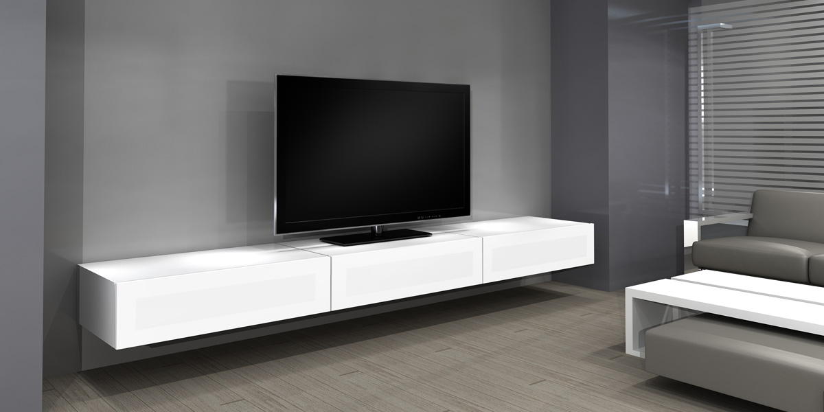 Mobilier Table Meuble Tv A Fixer Au Mur