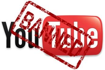 YouTube Account Shutdown