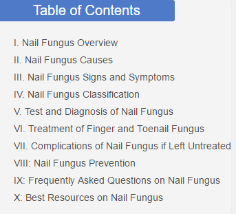 2. Table of Contents