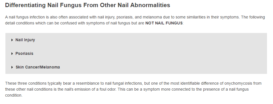 3. Diffentiating Nail Fungus