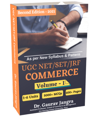 UGC NET Commerce Complete Book by Dr. Gaurav Jangra