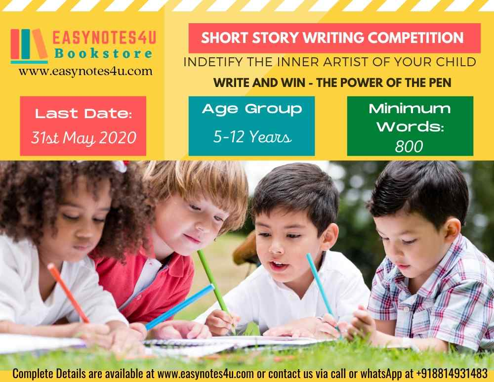 Short Story Writing Competition for Children