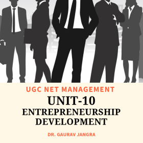 Entrepreneurship Development Notes for UGC NET Management MBA BBA ebook