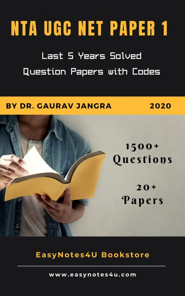 Paper 1 Solved Questions Papers NTA UGC NET Paper 1 Last 5 Years question