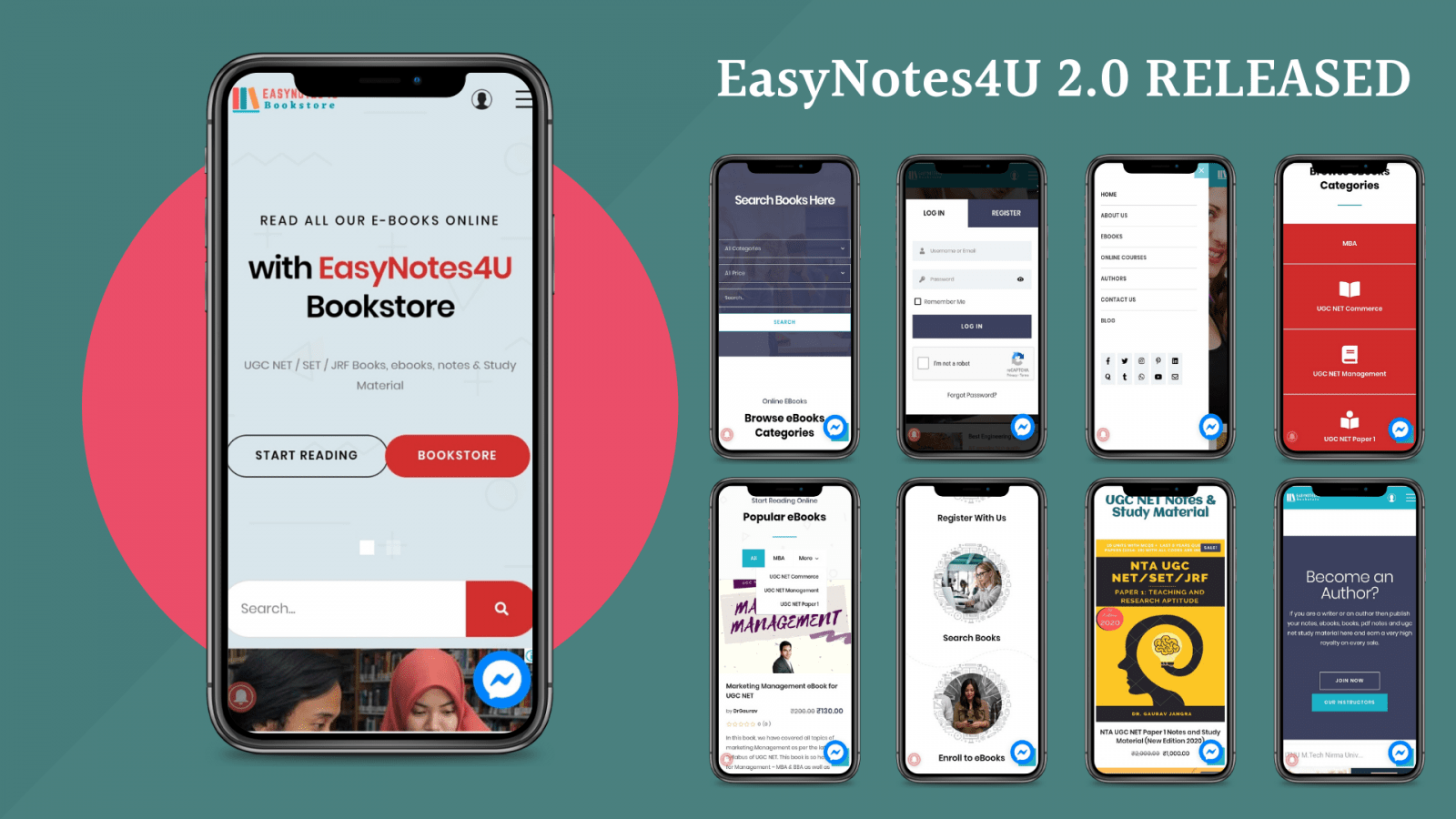 EasyNotes4U 2.0 Android App version Released – Download on Play Store