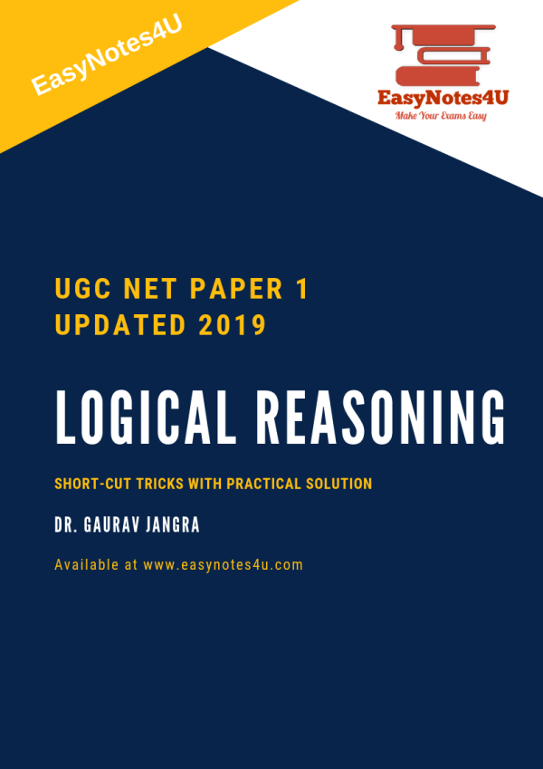 Logical Reasoning for NTA UGC NET Paper 1 Notes & eBook