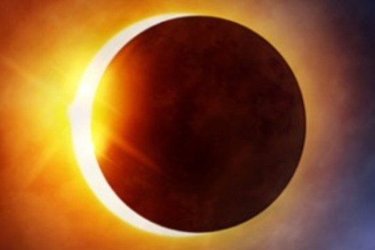 Don't see Solar Eclipse by nude eyes