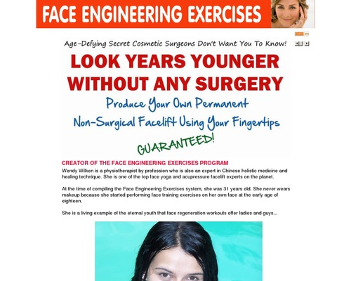 Face Engineering Exercises For Lifting Face Muscles And Skin 16
