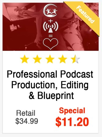 Professional Podcast Production Course
