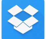 Dropbox file storage icon