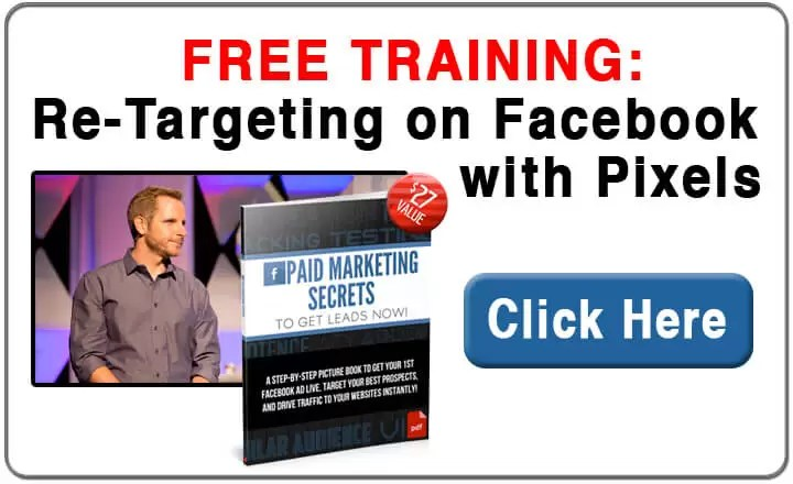 Re Targeting on Facebook with Pixels Free Training
