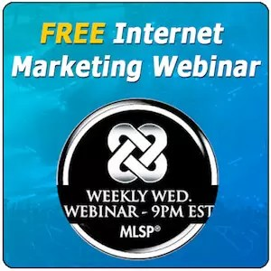 MLSP FREE Internet Marketing Webinar image 300